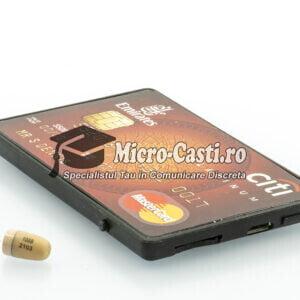 Card Gsm cu casca de copiat