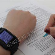 Ceas text pentru copiat, ceas de copiat bac