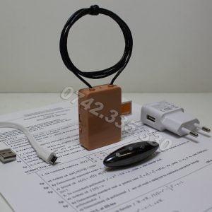 Cutiuta gsm - Casti de copiat la examene, Microcasti pentru examen