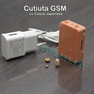 cutiuta gsm cu microcasca japoneza